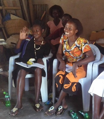 A training session in micro finance and Village Savings and Loan Associations
